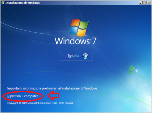 """error no such partition grub rescue"" Come avviare Windows se esce questo errore?"
